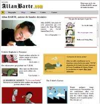 Blog du dessinateur et scénariste Allan Barte